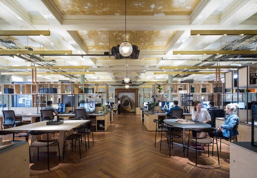 ​Office Winner: The Department Store (London, UK) by Squire and Partners. Photo: James Jones.