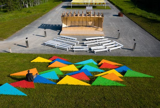 Ici et ailleurs by José Luis Torres – Montmagny (Québec) Canada. Photo credit: Martin Bond.