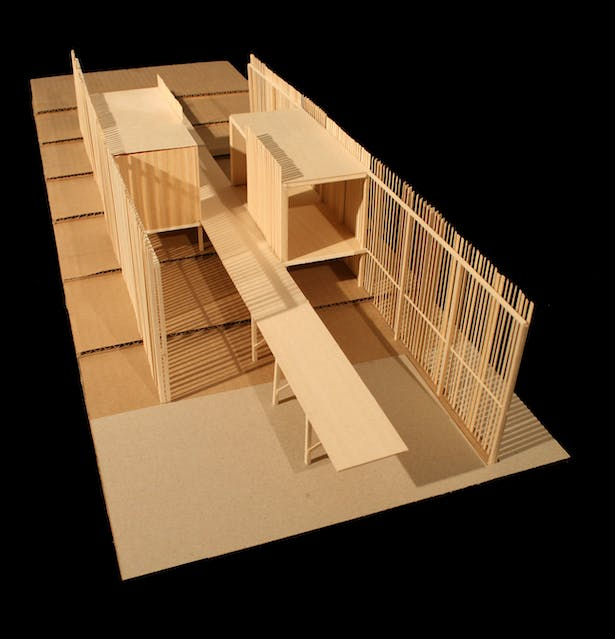 Physical Model 1/4' Scale