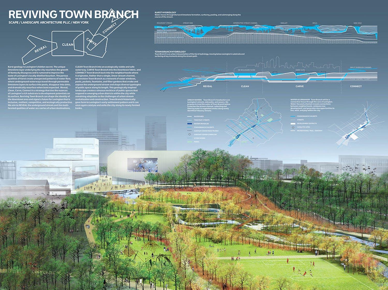 Competition Board By SCAPE Landscape Architecture