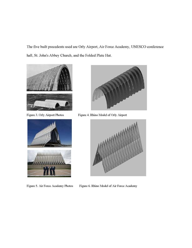 Structural Performance of Folded Structures Paper | Natalie