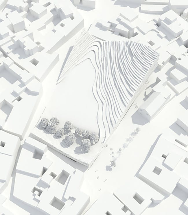 Site plan (Image: MUS Architects)