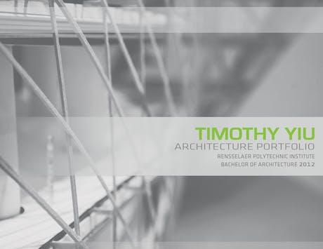 Recently updated my portfolio! Please view at http://issuu.com/timothy_yiu/docs/portfolio