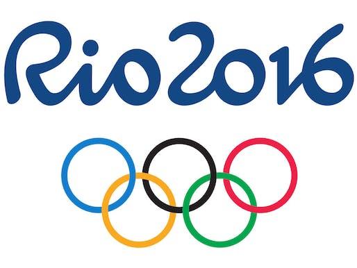 The Rio Olympics logo. Image via wikimedia.org