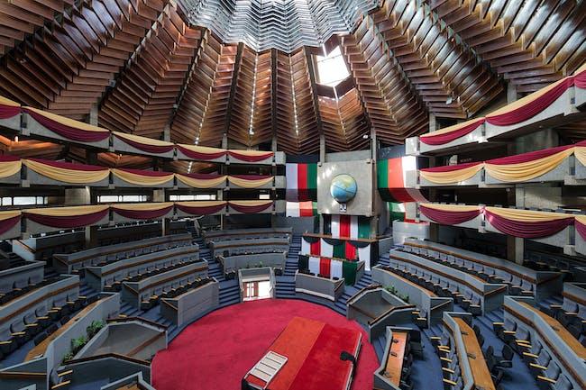 Kenyatta International Conference Centre, Nairobi (Kenya), by Karl Henrik Nostvik, 1967-1973 © Iwan Baan.