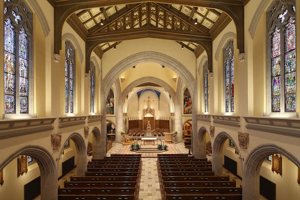 Blessed Sacrament Cathedral Sanctuary