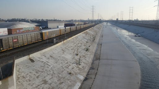 The L.A. River (photo by Charles Fulton via flickr)