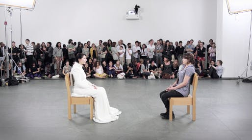 "Marina Abramovic, ""The Artist Is Present"" (2010), MoMA"