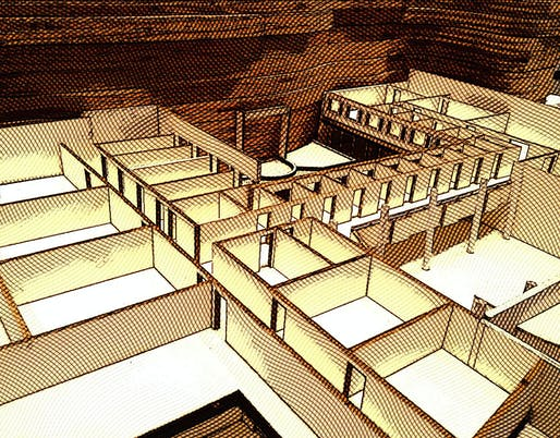 First floor of the model revealed
