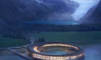 "Snøhetta unveils ""Svart"", the Arctic Circle's first energy-positive hotel"