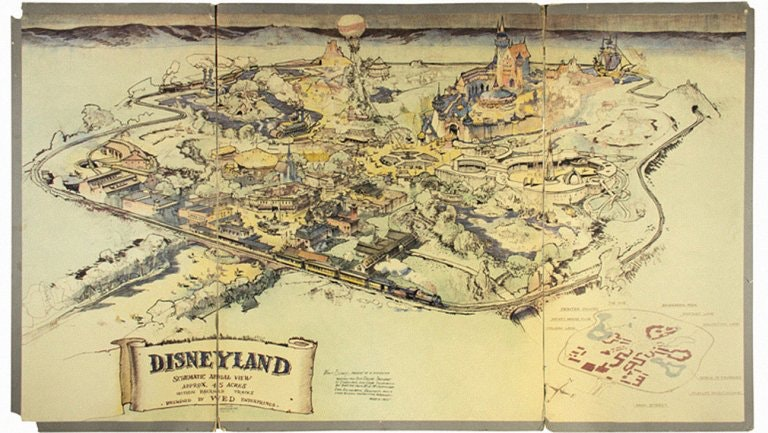 The first Disneyland map sold for $700K
