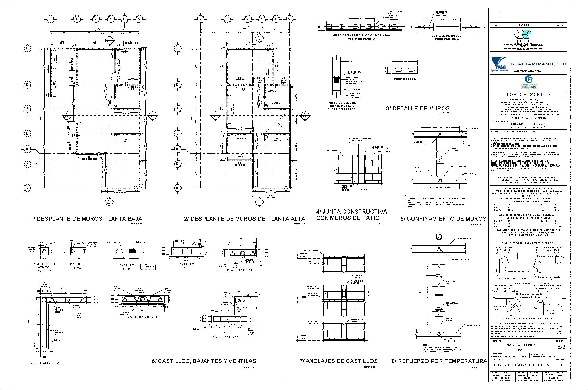 Structural plan walls made in revit