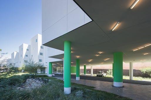 AIA|LA DESIGN AWARD - HONOR: Crest Apartments (Van Nuys, CA) by Michael Maltzan Architecture, Inc. Photo: Michael Maltzan Architecture, Inc.