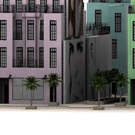 An urban housing project in south beach miami