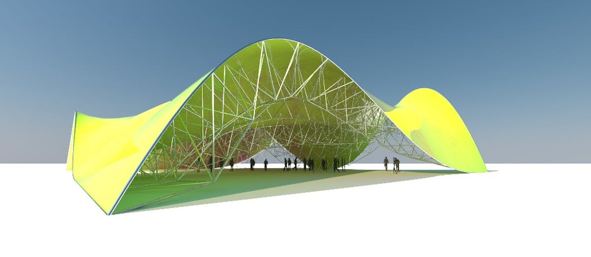 SPACE FRAME[FOLLOW SURFACE] - #6 GRASSHOPPER (DOWNLOAD