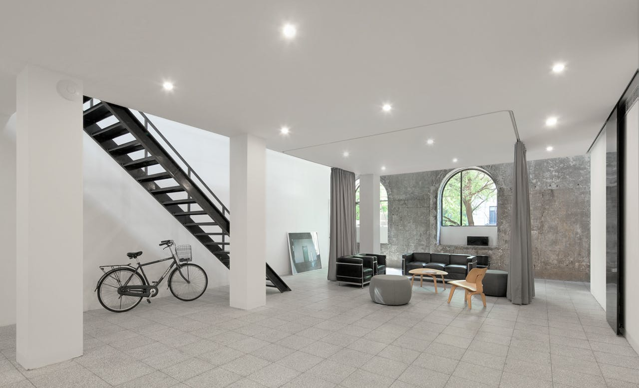 loft office. Principal Floor Reception, Xia Zhi Loft Office