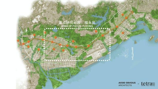 Area of Focus in Baoan