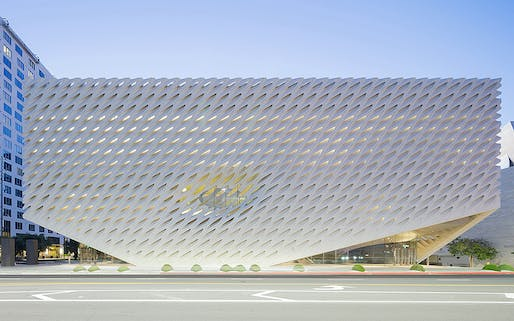 The Broad by Diller Scofidio + Renfro in collaboration with Gensler was an Honor Award winner in the 2016 AIA|LA Design Awards. The 2021 edition is currently open for submissions (details below). Photo: Iwan Baan.