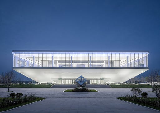 Future Exhibition Center in Baoding, Baoding_Hebei, China, 2019 by SZAD, Atelier Apeiron, and Yunchao Xu. Photographed by Shengliang Su.