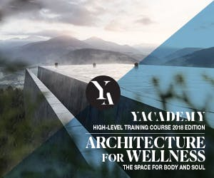 Architecture for Wellness: YACademy's high level training course offers 8 scholarships and internships in internationally-renowned architectural firms