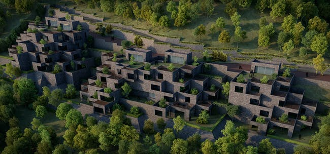 Future Projects - Residential: The Village, India, by Sanjay Puri Architects