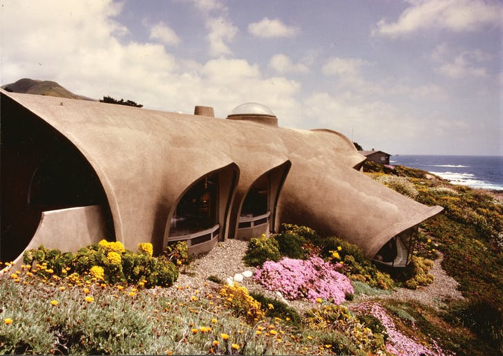 The 'Limp Penis House' by Mark Mills. Image courtesy Harvard Design Magazine.