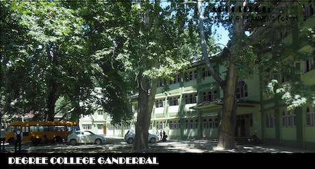 Degree College Ganderbal is winding around Chinars and has a dramatic effect of shade and shadow. It awakens your sleeping senses.