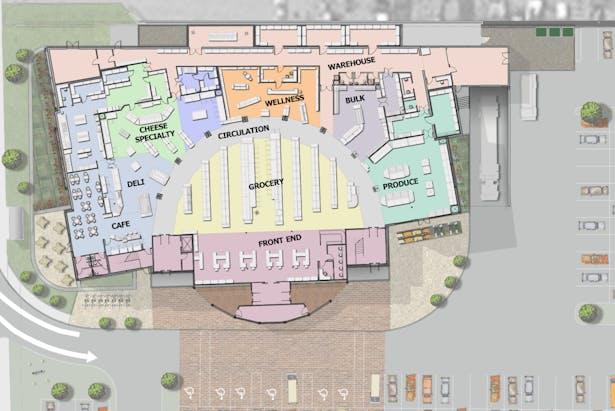 First Floor Plan View
