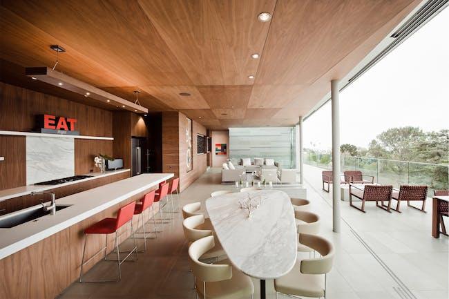 Kafka Residence in La Jolla, CA by Safdie Rabines Architects