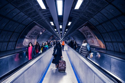 London tube tunnel. Image via isorepublic.com