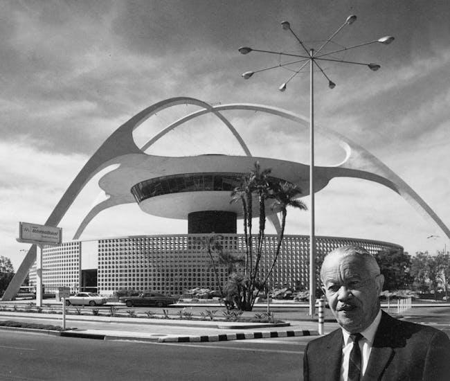 LAX Theme Building.