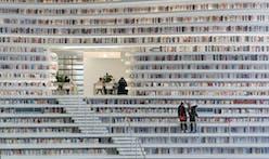 Books! Books everywhere! MVRDV completes Tianjin Binhai Public Library