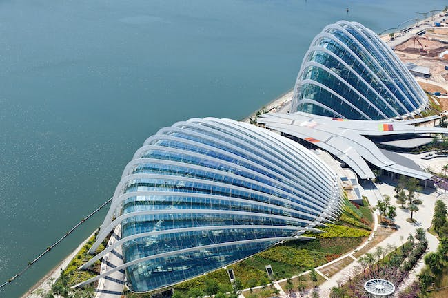 Award for Arts or Entertainment Structures: Gardens by the Bay,