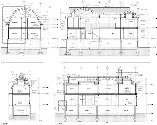 Building Sections, Revit