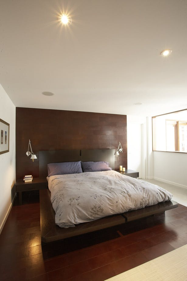 Cabbagetown Coach House Bedroom