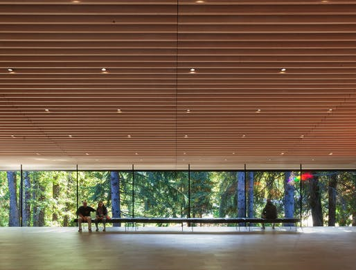 Audain Art Museum in Whistler, British Columbia, Canada, by John and Patricia Patkau. Photo: James Dow.