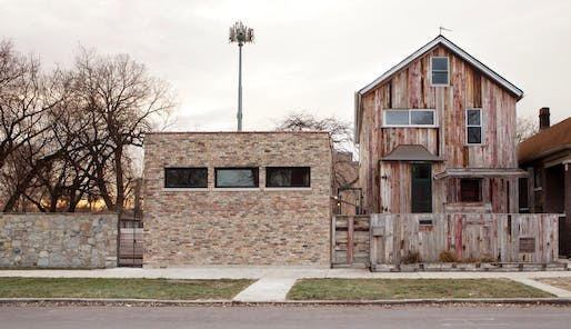 Dorchester Projects exterior - © Theaster Gates. Photo © Sara Pooley.
