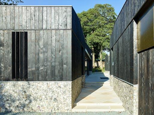 Peacock House by BHSF Architekten with Studio-P - Aldeburgh, Suffolk, England. Photo: Benedikt Redmann.