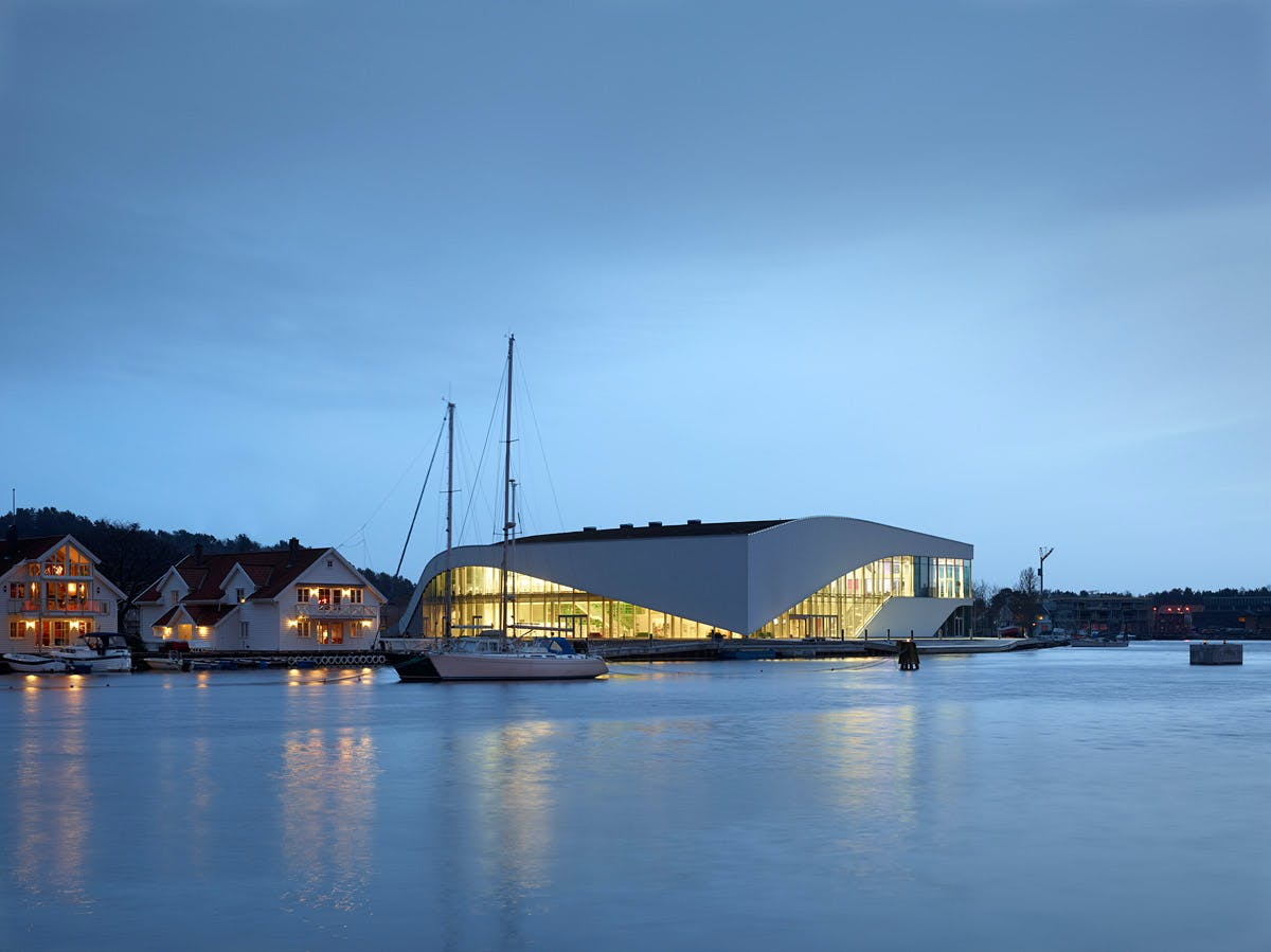 3XN's 'The Arch' Cultural Center Opens in Mandal, Norway