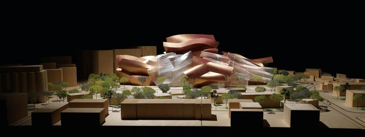 Model for Quanzhou Museum of Contemporary Art. Image courtesy of LACMA.