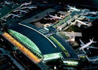 Terminal One in JFK Airport. New York