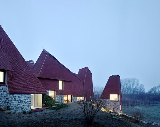 Caring Wood by Macdonald Wright Architects with Rural Office for Architecture - Near Maidstone, Kent, England. Photo: James Morris.