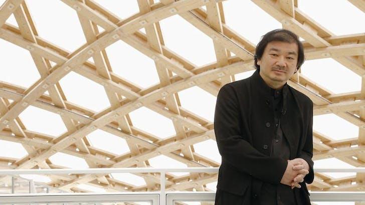 2014 Pritzker Laureate Shigeru Ban. Image courtesy japantimes.co.jp.