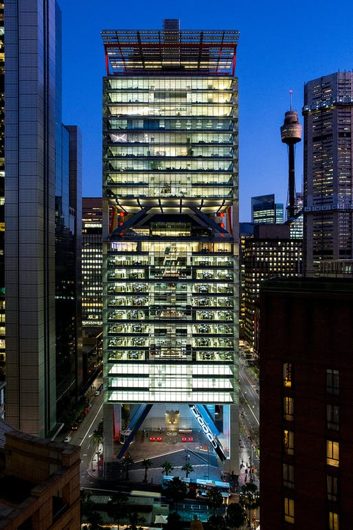 8 Chifley Square, Sydney, Australia by Rogers Stirk Harbour + Partners with Lippmann Partnership, Arup (Australia). 2014 © Brett Boardman