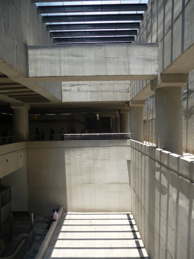 the secret modernist metro in Mexico City (line 12) via Alec Perkins.