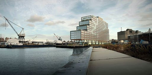 Oct 17: Dock 72, Architect: S9 Architecture, Rendering courtesy S9 Architecture.
