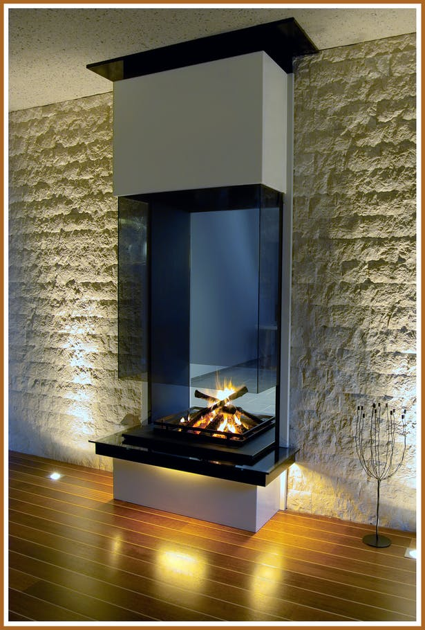 Bloch Design contemporary fireplace 2