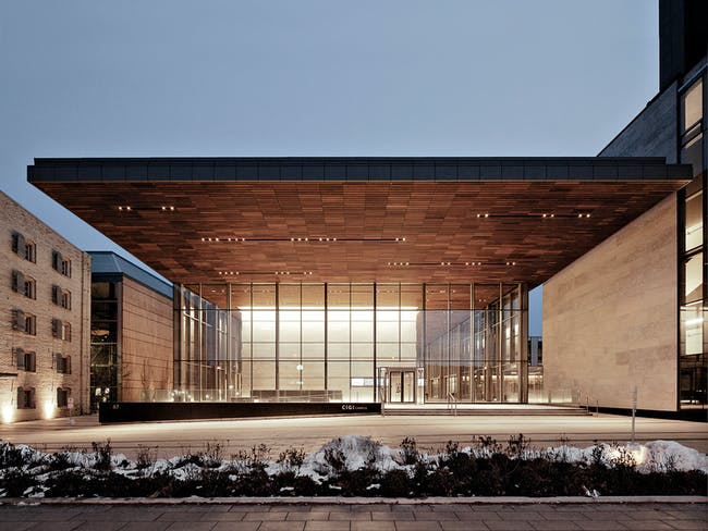 Centre for International Governance and Innovation (CIGI) Campus - Waterloo, Ontario, Canada. Photo: Maris Mezulis