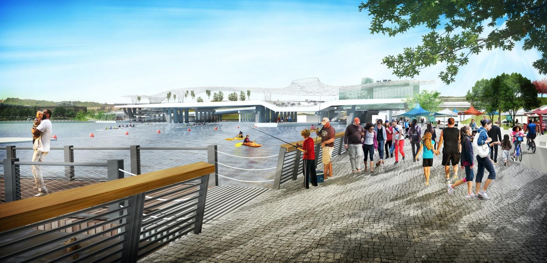 Oma And Olin Studio To Design New 11th Street Bridge Park In D C
