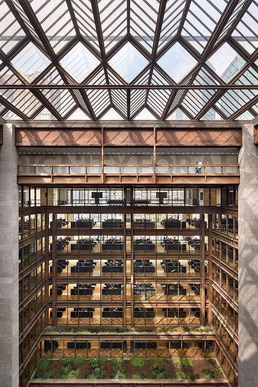 Ford Foundation Center for Social Justice, New York City | Gensler. Photo © Garrett Rowland, courtesy of Gensler.
